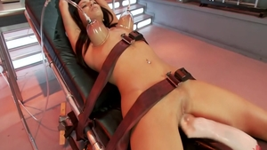 Small tits Breanne Benson desires tied up