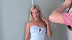 Hard slamming escorted by czech blonde Victoria Pure