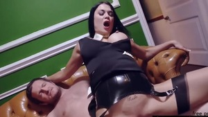 Group sex scene alongside shaved raw Jasmine Jae
