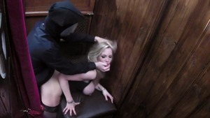 Pussy sex with blonde Rebecca More