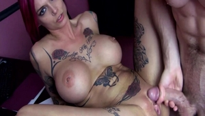Big tits MILF Anna Bell Peaks feels the need for hard fucking