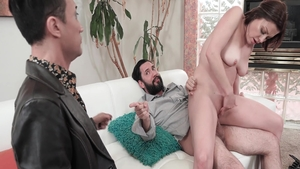 Reality plowing hard escorted by big tits babe Sovereign Syre