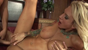 Busty Sarah Jessie blonde gets a good fucking video