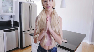 Rough hard sex escorted by young girl Elsa Jean