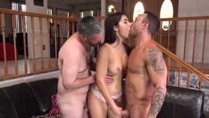 Handjob escorted by horny caucasian amateur