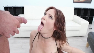 Big boobs Syren De Mer hooker dick sucking video