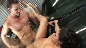 Gangbang video with pierced hardcore Charley Chase