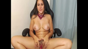 Sex with toys on live cam colombian Jean Val Jean in shorts