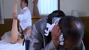 Japanese bride needs real fucking