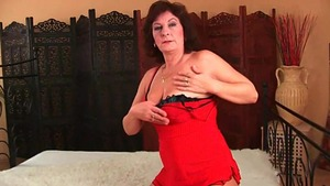 Nailing with hairy stepmom
