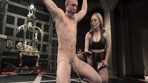 Young & big tits Aiden Starr in tight stockings fingering