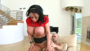Cumshot with big boobs Kerry Louise