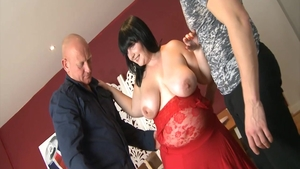 Hard group sex together with big boobs BBW Andi XXX