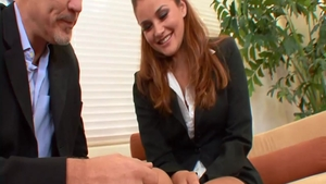 Young Allie Haze ass pounded