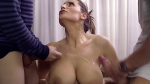 Loud sex escorted by young
