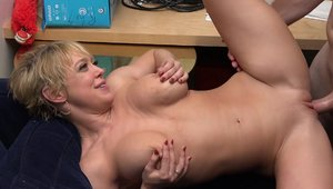 Hard pounding together with hottest blonde Dee Williams
