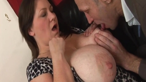 Rough fucking hard in the company of fat british amateur