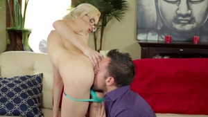 Small tits pornstar Elsa Jean goes for fucking hard