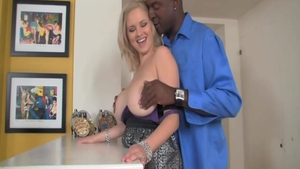 Super hot blonde Katie Kox has a passion for rough nailing