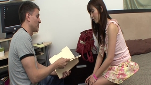Horny japanese babe Marica Hase rushes good fucking