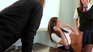 Alyssa Reece as well as Shyla Jennings gangbang