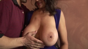 Persian Persia Monir pussy eating in the kitchen