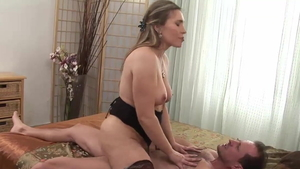 Hottest George Uhl and Evelina Marvellu ramming hard sex scene