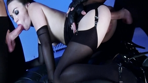 Small tits Tiffany Doll pussy fuck in lingerie