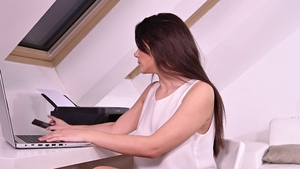 Hard ramming in company with curvy stepmom