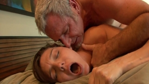 Raw plowing hard escorted by thick coed Natalie Monroe in HD