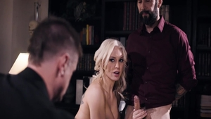 Rough nailing together with Tommy Pistol & Kenzie Taylor