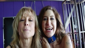 Girlfriend Nina Hartley getting smashed very nicely