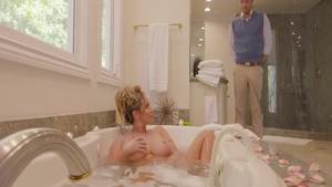 Eva Notty riding a dick in the shower