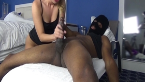 Dick sucking with very hot amateur Harley Jade