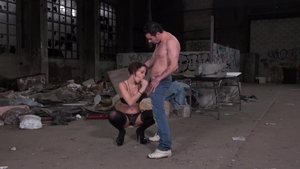 Ramming hard in company with naughty european girl Lexie Candy