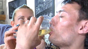 Strapon with russian mistress