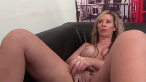 Pussy eating at casting next to stepmom Rick Angel