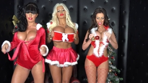 Cougar Kerry Louise in the company of Candy Charms threesome
