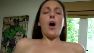 Melanie Hicks in POV raw got nailed