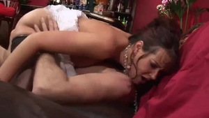 Raw nailed rough with big boobs brunette Tanya Cox