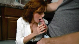 Taboo cumshot between MILF Andi James