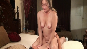 Sex in company with horny chick