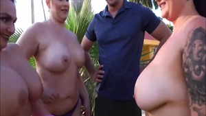 Busty BBW Sean Lawless finds irresistible threesome