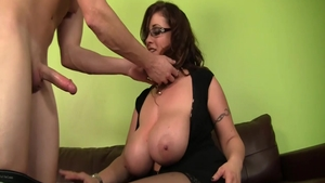 Big tits MILF Eva Notty wishes for fucking