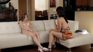 Holly Michaels with Lia Ezra good fucking at the audition