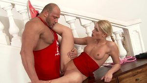 Sex escorted by perfect blonde Sweet Cat
