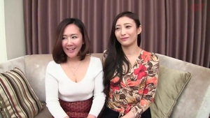 Group sex at the castings along with fabulous hairy asian MILF