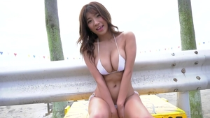 Big boobs female in stockings fantasy fucking outdoors