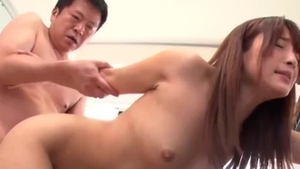 Rough fucking escorted by big tits japanese MILF