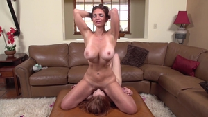 Big tits stepmom Mindi Mink does what shes told HD